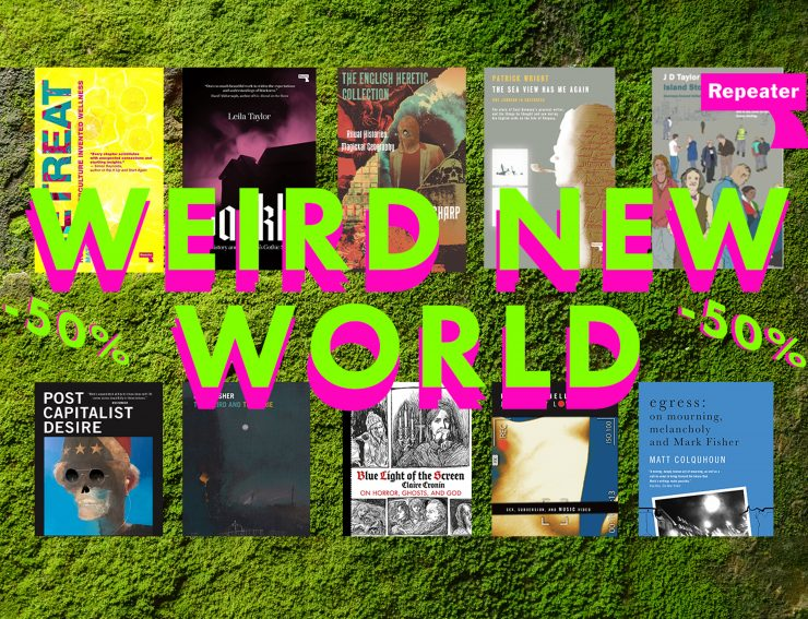 WEIRD NEW WORLD 🐙 50% OFF BOOKS