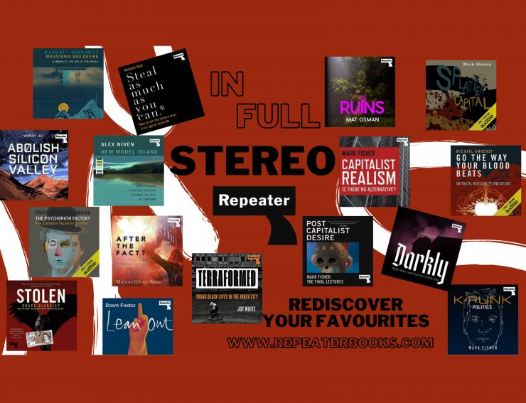 Sonic texts | Discover Repeater audiobooks